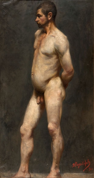 paintings-of-the-nude-male-body